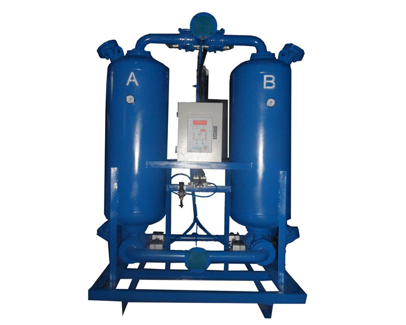 Micro heat regenerative adsorption drying machine