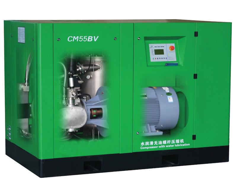 oil-free screw air compressors china